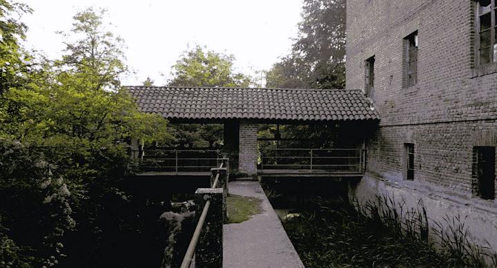 Mulino Cervino, passerella del salto (2009)