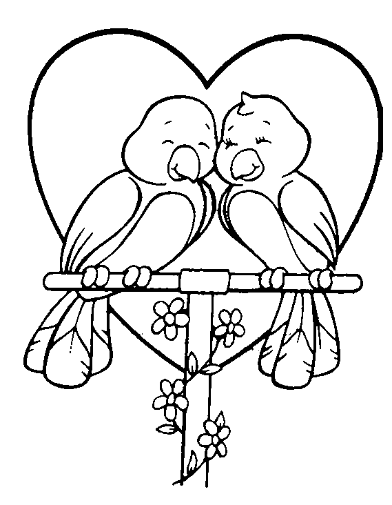 Mooie Kleurplaten Over Liefde.18 Mooie Liefdes Kleurplaten