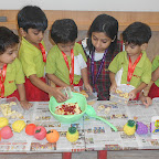 Healthy Fruit Salad Day Celebrated by Playgroup Afternoon Section at Witty World, Chikoowadi(2017-18)
