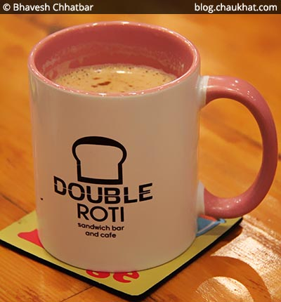 Hand Beaten Coffee at Double Roti, Viman Nagar, Pune