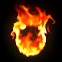 Magic Flames Free - fire live wallpaper simulation icon