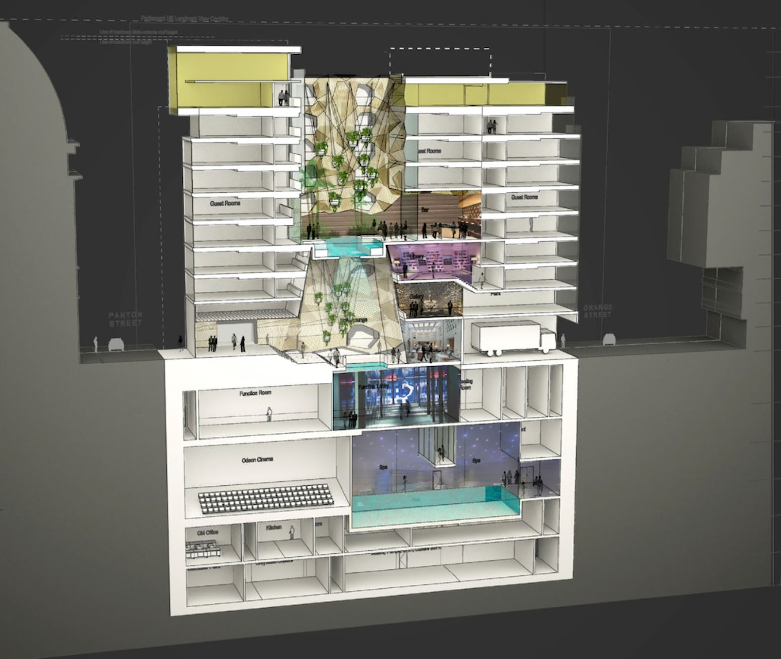 06-Hotel-plans-in-London's-Leicester-Square-by-Woods-Bagot
