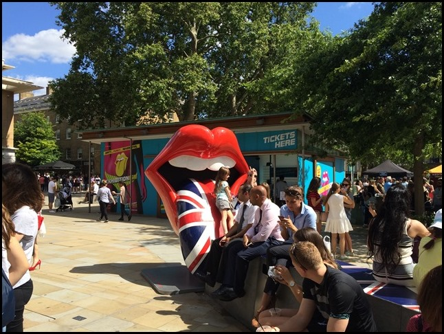 Outside The Rolling Stones Exhibitionism