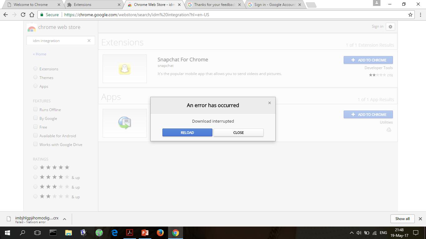 Internet Download Manager extension - Google Chrome Help