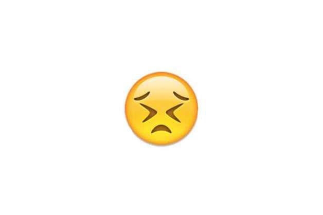 Biểu tượng cảm xúc Facebook Emoticon Emoji Bức bối, khó chịu
