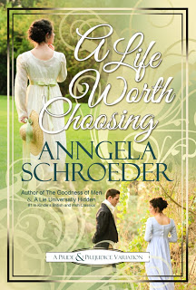 Book cover: A Life Worth Choosing by Anngela Schroeder