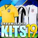 Dream League Brasileiro kits soccer Brazil icon