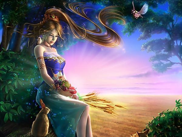 Girl Of Sunrise, Magic Beauties 3