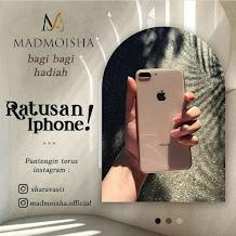 Madmoisha Berbagi, Ratusan iPhone Digratiskan