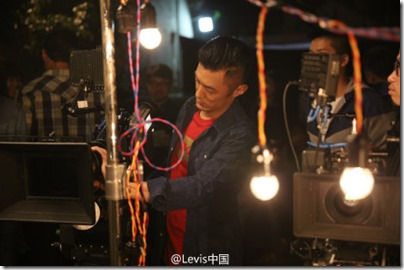Shawn Yue X Levi's - Lunar New Year 2016 Behind the Scene 03
