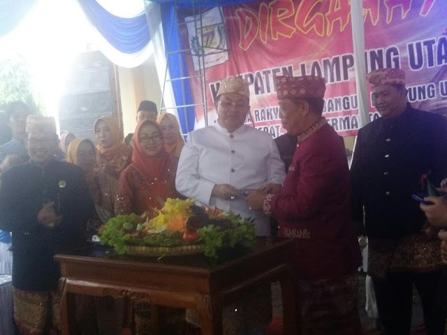 DPRD LAMPURA GELAR SIDANG PARIPURNA HUT LAMPURA KE 72