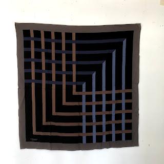 Georg Jensen Geometric Silk Scarf