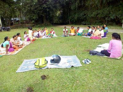 Action plan at Nayapara village, Bongaigon