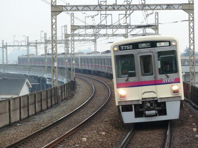 京王電鉄 急行京王多摩センター行き2 7000系幕式(平日1本運行)