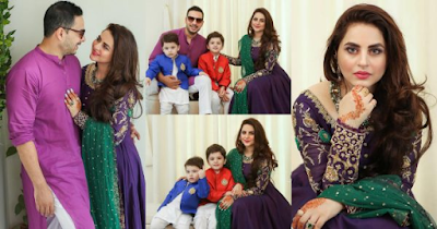 Kanwar Arsalan and Fatima Effendi Eid Pictures