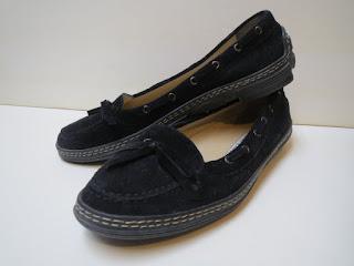 Manolo Blahnik Suede Boat Shoes