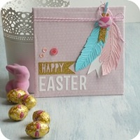 8 - sizzix big shot -  home decor - easter - pasqua - fustelle