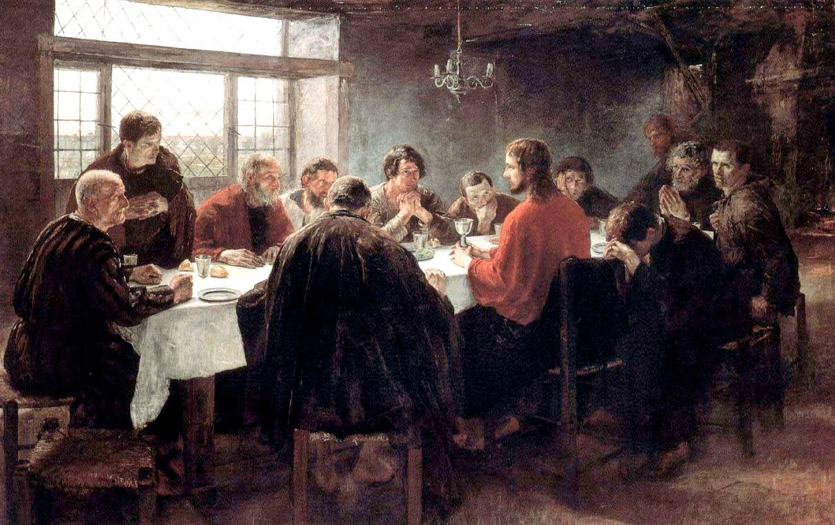 Fritz von Uhde - The Last Supper (1886)