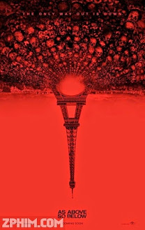 Hầm Mộ Ma Quái - As Above, So Below (2014) Poster