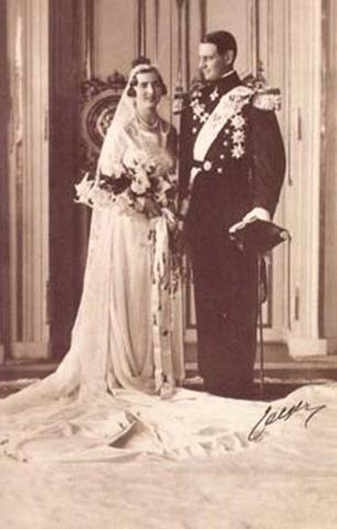 La princesa Ingrid de Suecia l