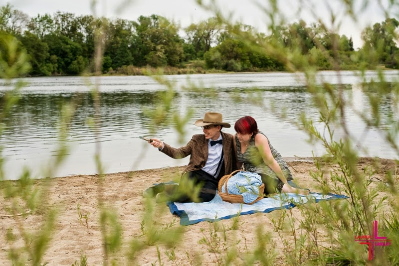 Dr. Who Themed Engagement Session