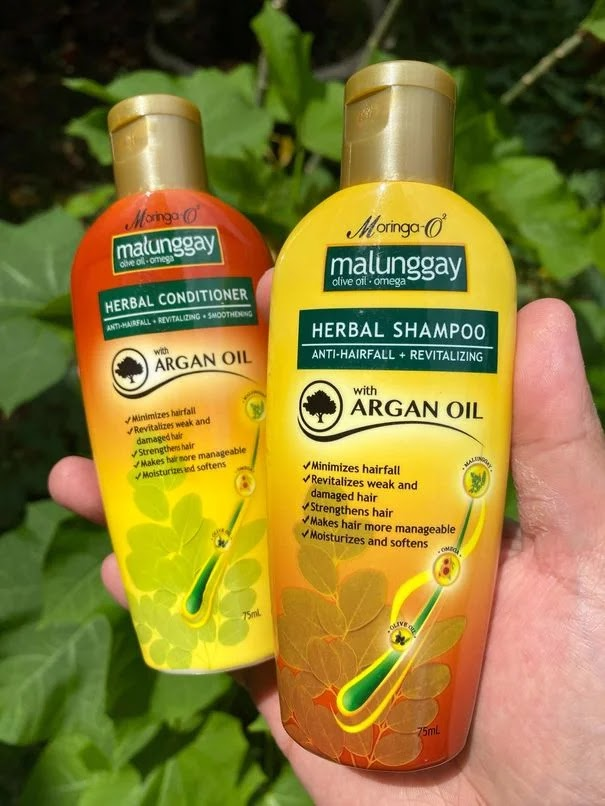 Moringa-O2 Herbal Shampoo and Conditioner