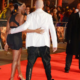 WWW.ENTSIMAGES.COM -   Alexandra Burke and Brian Friedman    at The Hunger Games - Mockingjay - part 1 - UK film premiere at Odeon Leicester Square, London November 10th 2014Premiere of latest film in the Hunger Games franchise, which this time sees Katniss lead a rebellion against the tyrannical and corrupt Capitol.                                                    Photo Mobis Photos/OIC 0203 174 1069