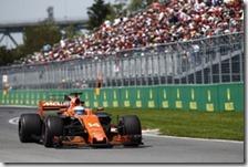 Fernando Alonso con la McLaren-Honda