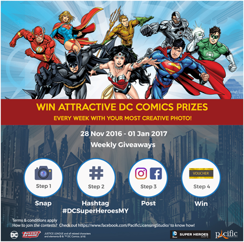 SNAP, POST & WIN DC Justice League! - Suka-Suka Dan Cuba-Cuba...3