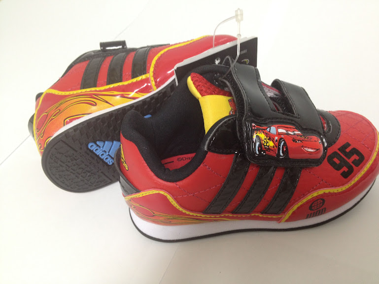 Disney Cars Shoes Boys Size  Addidas