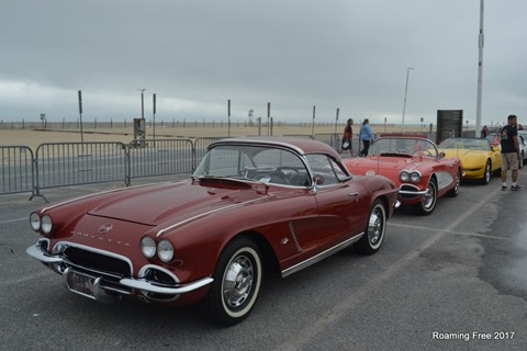 A couple of nice older Corvetttes