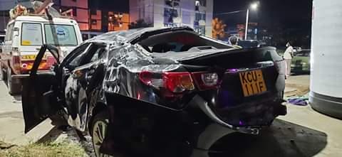Buxton in MOMBASA road accident did not Involve  Mvita Mp Abdulswamad Sharif Nassir.