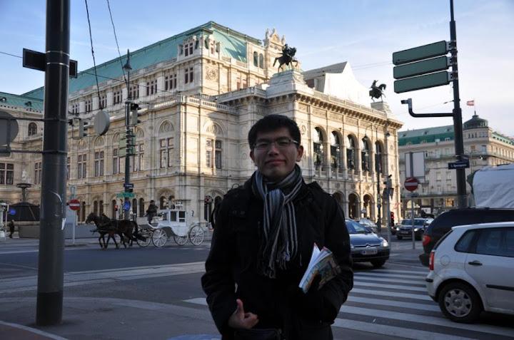 維也納的國立歌劇院