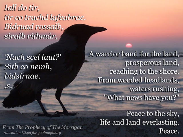 Prophecy meme – Section 5 - by Kathryn NicDhàna for Gaol Naofa