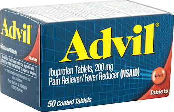 Advil Ibuprofen 200 mg Coated Tablets - 100 Tablets