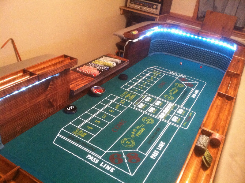 My craps table build page 8 the perfect man cave for 12 craps table