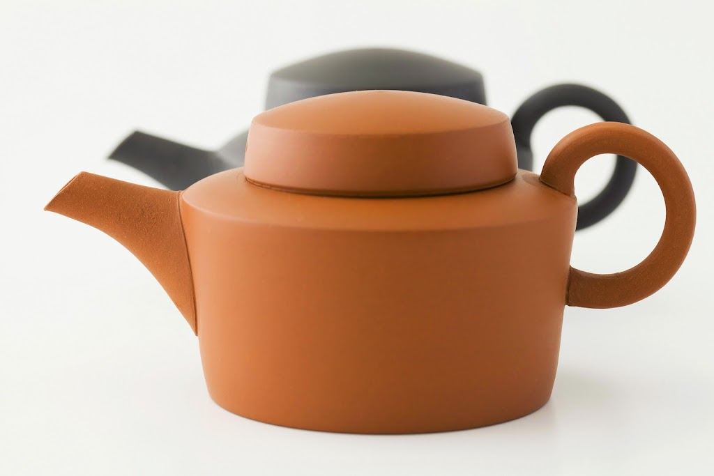 Tokoname Kyusu Teapot Shou (red brown)