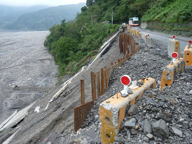 Ylan County.les dévastatations du dernier typhon de début octobre 2008