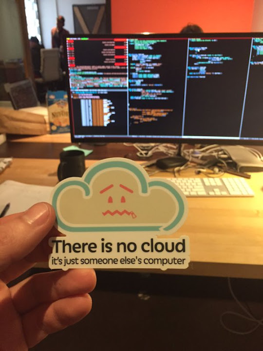Image - Humour: There is no Cloud