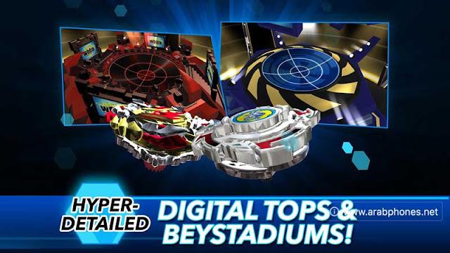 تحميل لعبة Beyblade Burst Rivals مهكرة للاندرويد