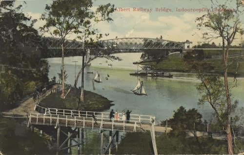 Albert Railway Bridge, ca. 1911