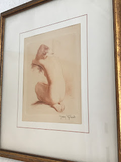 Jean Auguste Vyboud Signed Etching