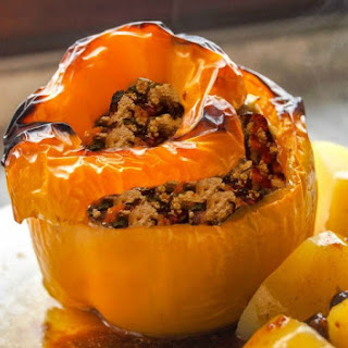 Turkey Stuffed Peppers - Paleo - Whole30 - Gluten Free.