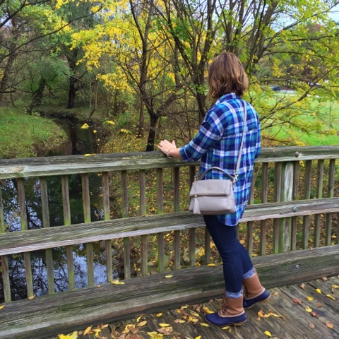 how to wear duck boots, mom style, plaid tunic, never say never