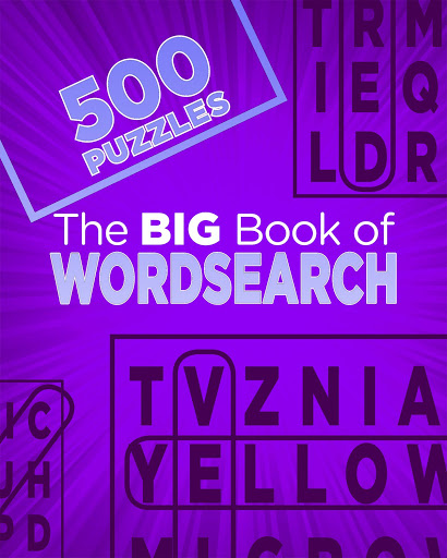 The Big Book Of Wordsearchs (500 Puzzles) - Books Puzzles & Games