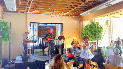 Portland Monthly Country Brunch 2015, Hank Sinatra and the Atomic Cowboys and emcee Poison Waters