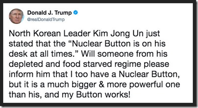 Trump my button works tweet