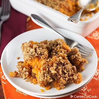 Sweet Potato Casserole {Like Ruth's Chris)