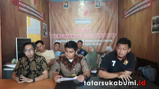 Bawaslu Kabupaten Sukabumi Hentikan Proses Video Viral Kades Dukung Salah Satu Calon Presiden di Pemilu 2019 // Foto : Isep Panji
