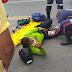 Moto taxista sofre acidente na Avenida Centenário em Jacobina